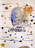 Wayne Barker, Coca-Cola, watercolours